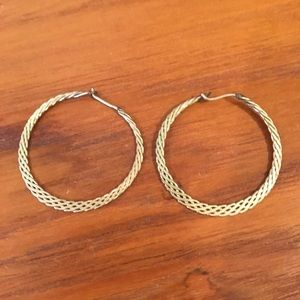 Jewelry - Braided Hoops